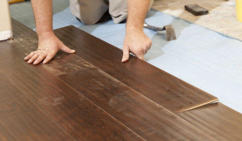 laminate flooring on concrete