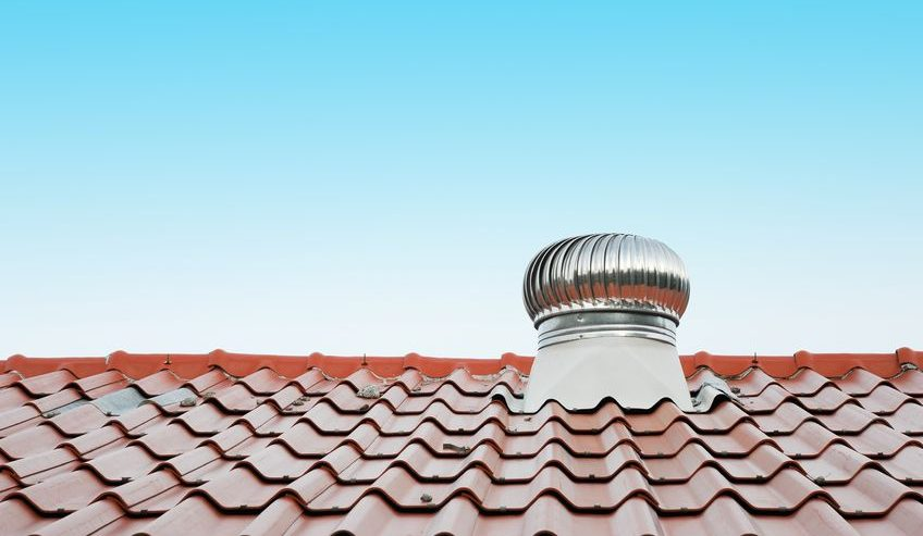 installing a roof vent