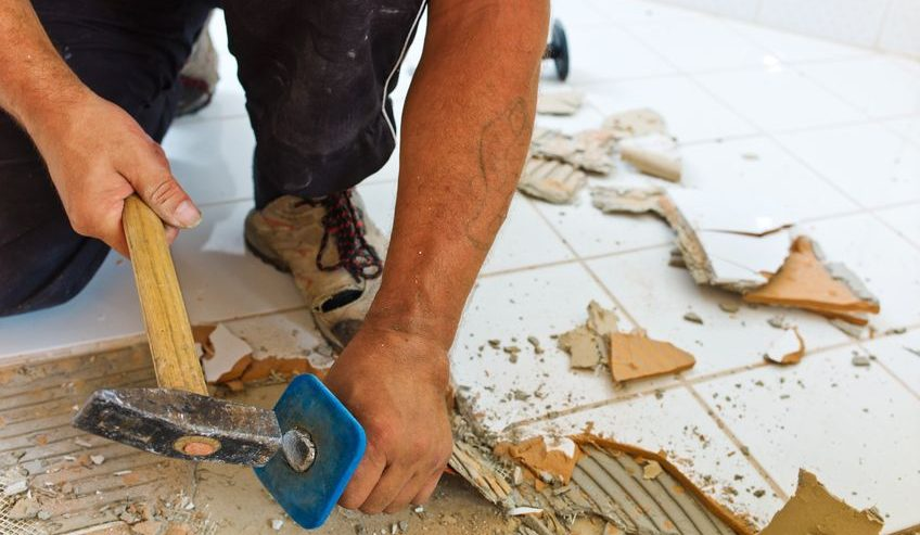How To Remove Ceramic Floor Tile Servicewhale