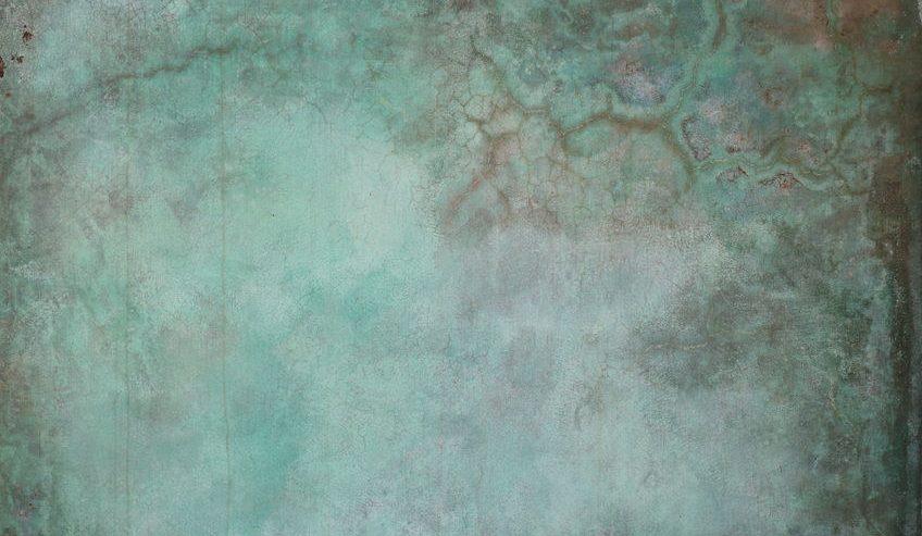 ocean colored concrete stain